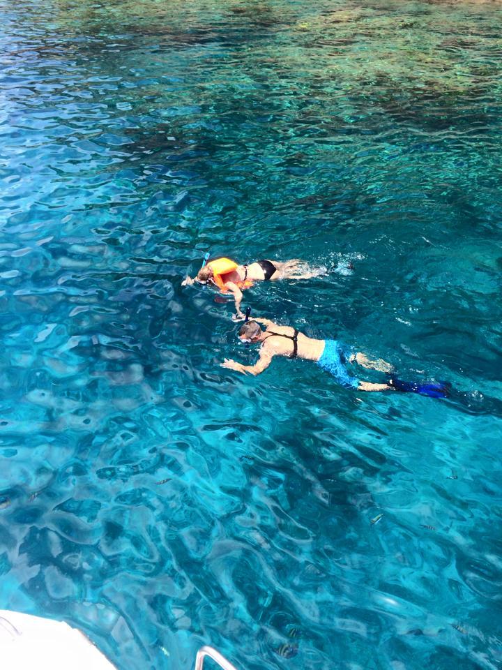 Norman Island - Snorkeling