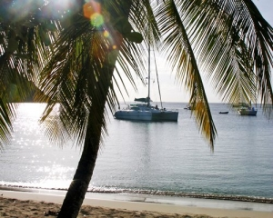 BVI day sailing